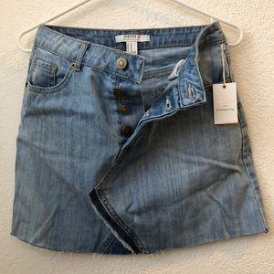 Cute never been worn jean mini skirt!